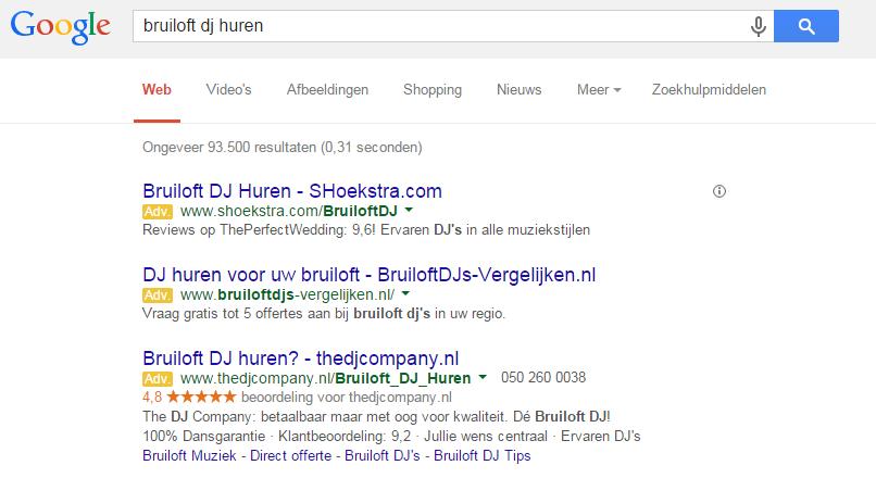 Seller ratings The DJ Company