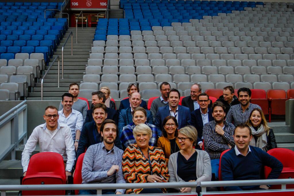 Groepsfoto Amsterdam Arena