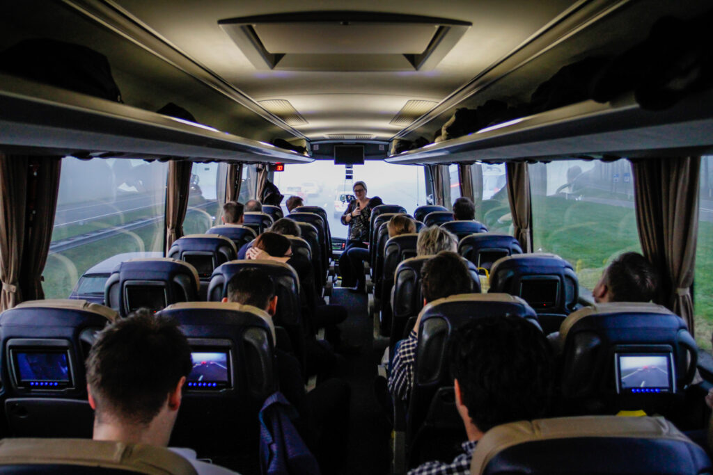 Junction on tour | OAD VIP bus