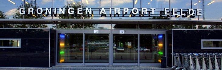Ingang Groningen Airport Eelde