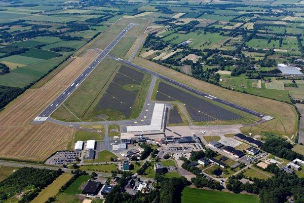 Zonnepark Groningen Airport Eelde