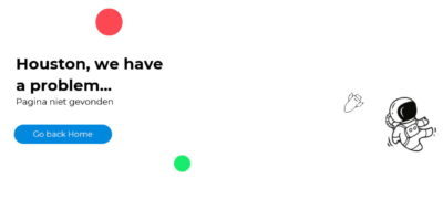 Voorbeeld 404 pagina