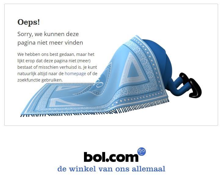 bol.com 404 pagina