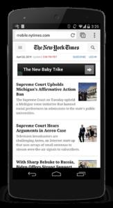 New York Times met CSS