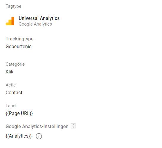 Klikken op links Google Tag Manager