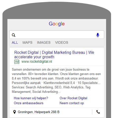 Responsive search ads Rocket Digital